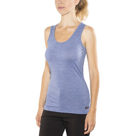 Devold W's Breeze Singlet Bluebell Melange